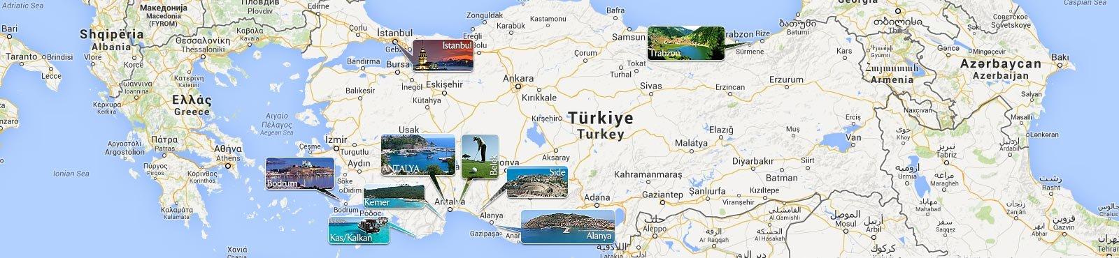 Property Turkey Map