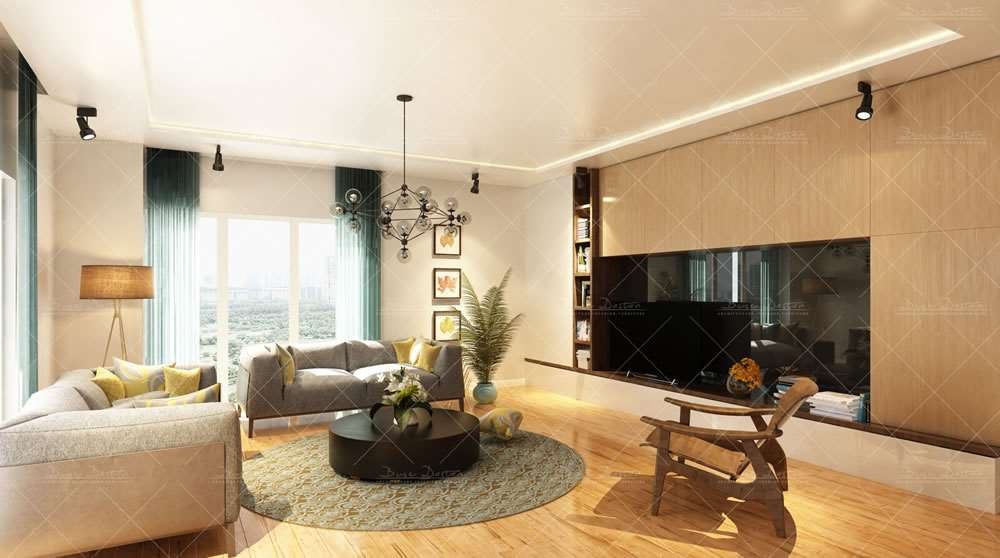 Luxurious Apartments With 7-Star Hotel Concept 6