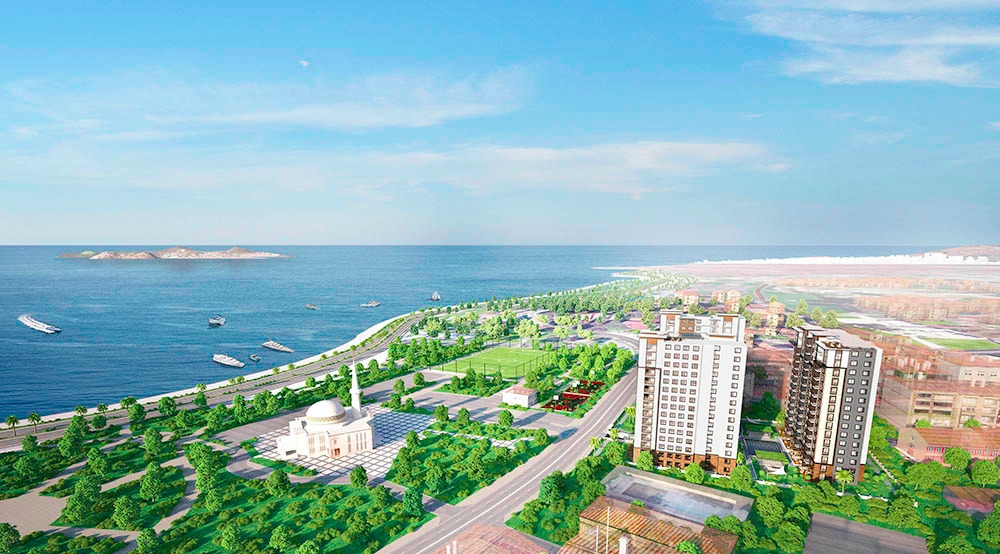 Sea View Apartment for Sale in the Asian Side 1